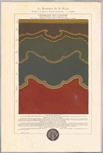 Tenture murale, L'harmonie des couleurs, 1815 - Édouard Guichard