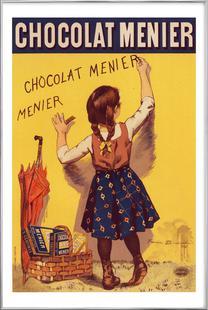 Poster for Chocolat Menier, Firmin Bouisset