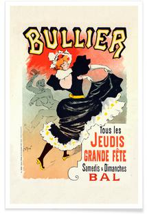 Poster for le Bal Bullier - Georges Meunier