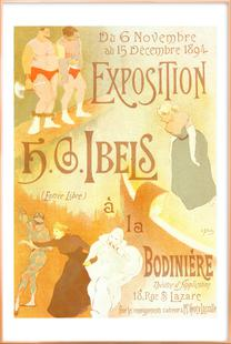 Poster for l' Exposition de H. G. Ibels