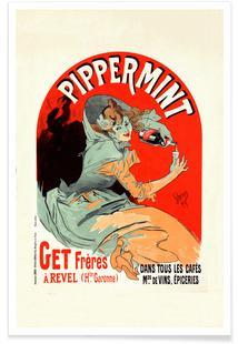 Belgium Poster for Pippermint - Jules Chéret