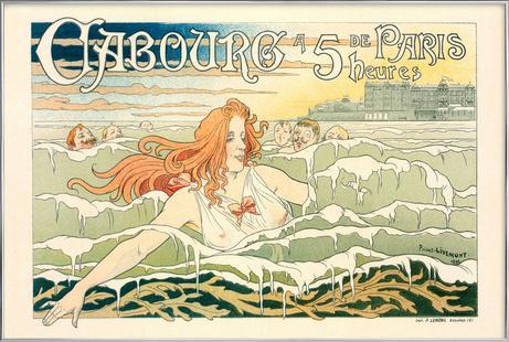 Belgian Poster for le Casino de Cabourg. -Antoine Théodore