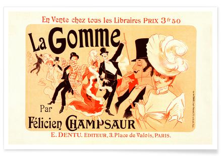Poster for la Gomme -Jules Chéret