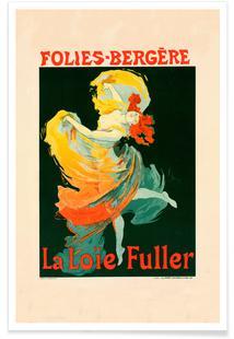 Folies-Berg - Jules Chéret