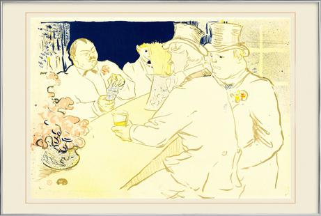Irish and American Bar, Rue Royale, 1896 - Henri de Toulouse-Lautrec