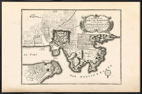 Marseille, France, 1726