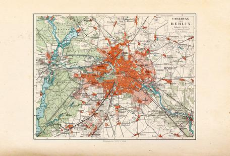 Berlin And The Surrounding Area, Germany, 1899