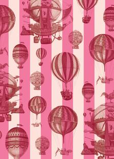 Pattern Balloon Stripes