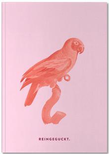 Vintage Parrot Typo