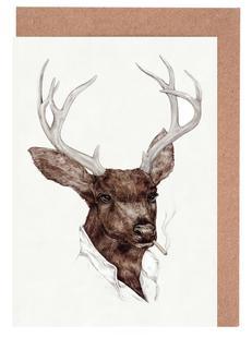 Smocking Buck