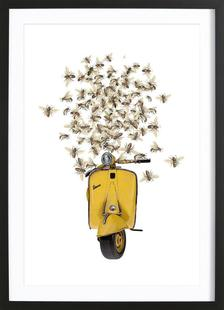 Sweet as a honey...Vespa