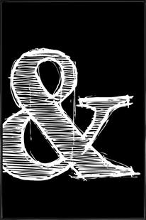 Ampersand Black