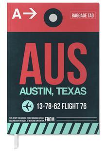 AUS Austin Luggage Tag II