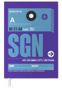 SGN Ho Chi Minh City Luggage Tag I