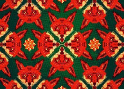 Geometric Fox Pattern