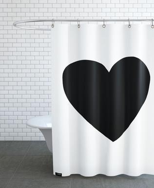 Big Heart -Duschvorhang