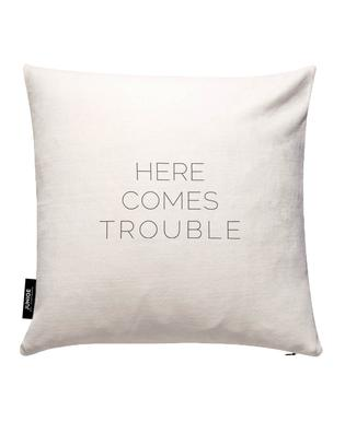 Trouble Cushion Cover