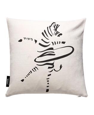 Hula-Hoop Zebra Kissenbezug