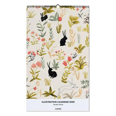 Illustration Calendar 2020 - Daniela Spoto -Wandkalender