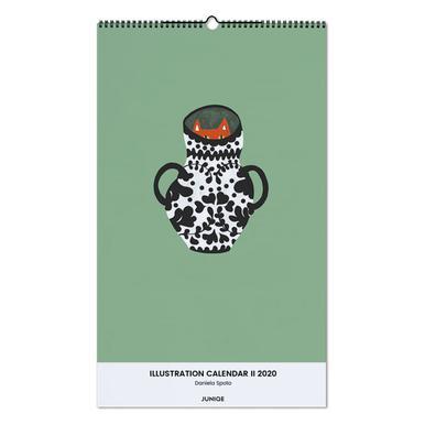 Illustration Calendar II 2020- Daniela Spoto wandkalender