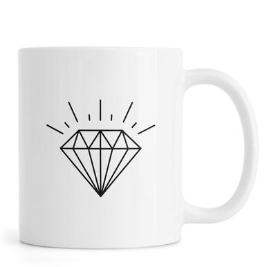 Diamond -Tasse