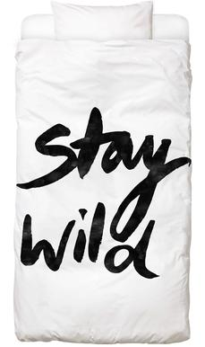 Stay Wild Bed Linen