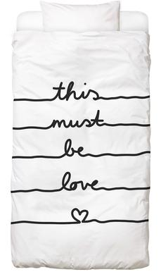 This Must Be Love Bed Linen