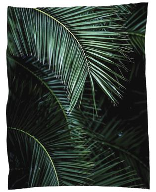 Palm Leaves 9 Fleecefilt