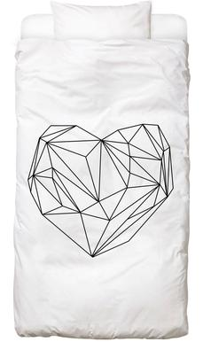 Heart Graphic Bed Linen