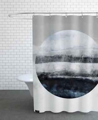Minimalism 47 -Duschvorhang