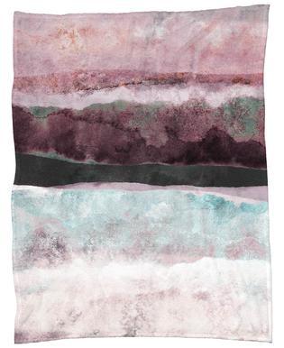 Watercolors 24 Fleece Blanket