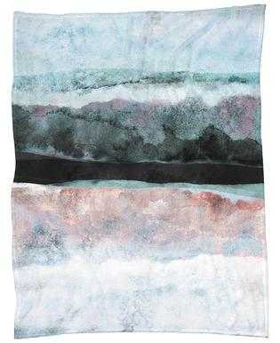 Watercolors 24X Fleece Blanket