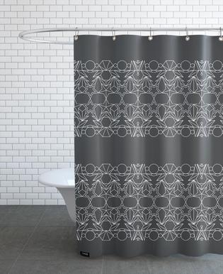 Outline Grau rideau de douche