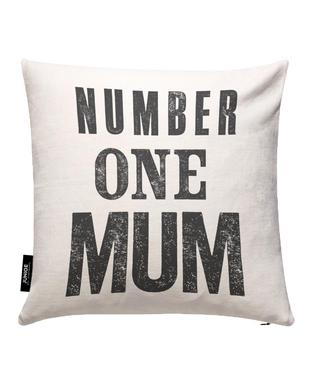 Number One Mum Cushion Cover