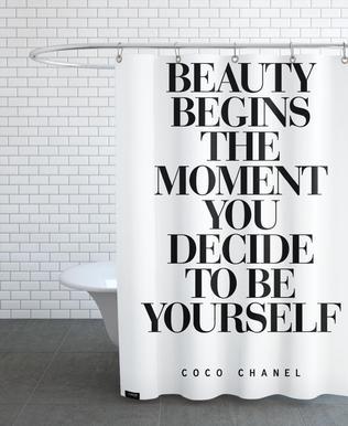 Beauty Begins -Duschvorhang