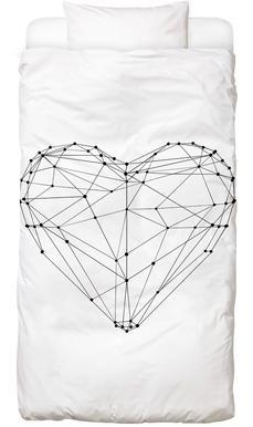 Geo Heart Bed Linen