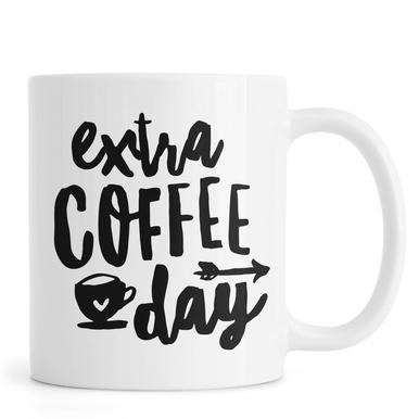 Extra Coffee Day mug