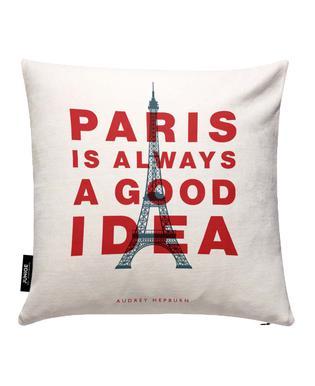 Paris is Always a Good Idea Kissenbezug