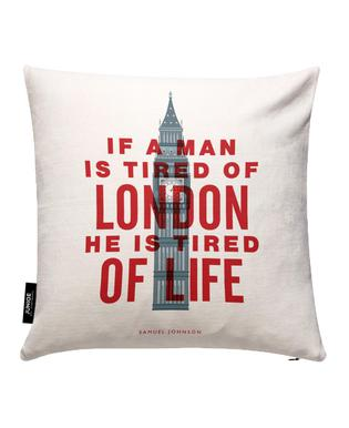 If A Man Is Tired Of London Kissenbezug