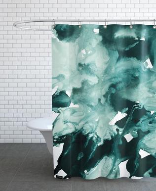 Inkblot Marble 4 rideau de douche