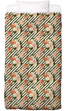 Chrysanthemum Rain -Kinderbettwäsche