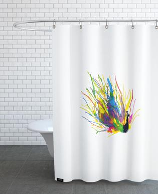 Colorful Peacock Shower Curtain
