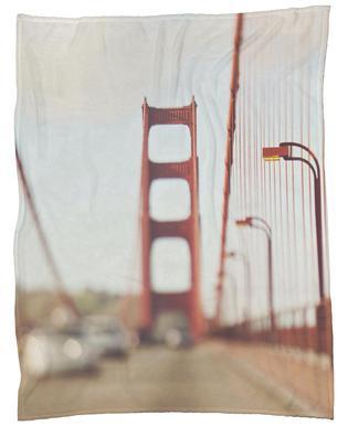 A Memory San Francisco Fleece Blanket