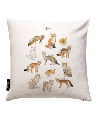 Foxes Kissenbezug