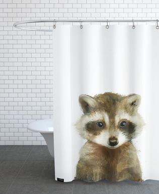 Little Raccoon -Duschvorhang