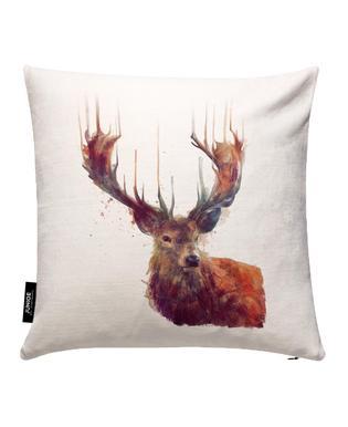 Red Deer Kissenbezug