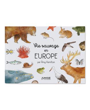 Vie sauvage en Europe Livre pour enfant