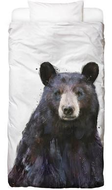 Black Bear housse de couette enfant