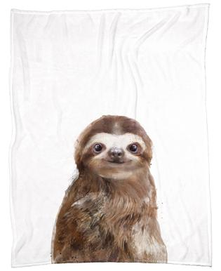Little Sloth Fleece Blanket