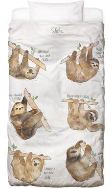 Sloths -Kinderbettwäsche